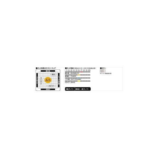 「新パッケージ」GOSEN ゴーセン 「ハイシープミクロ 200mロール」ss2002ソフトテニスストリング ガット|kpi|02