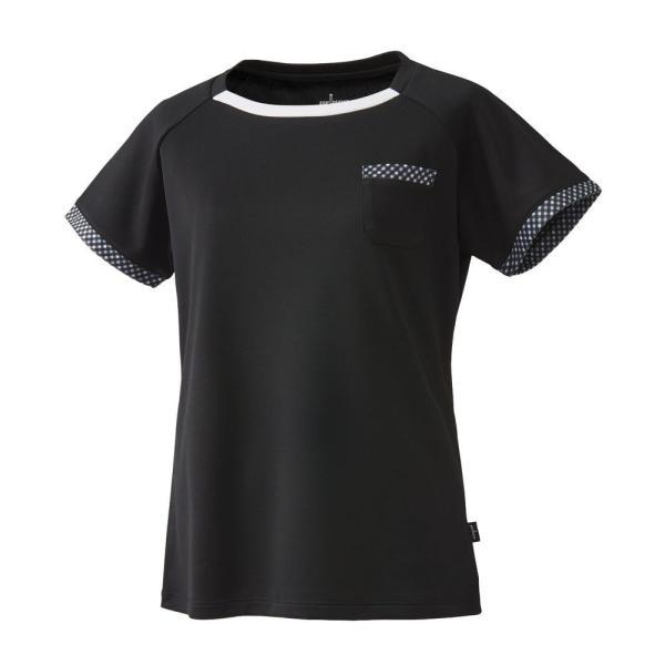 プリンス Prince テニスウェア レディース ゲームシャツ WL8095 2018FW[ポスト投函便対応] kpi 06