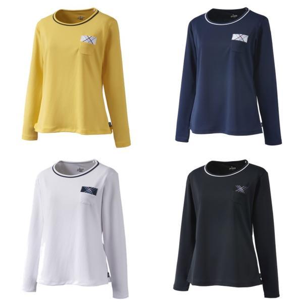 プリンス Prince テニスウェア レディース ロングスリーブシャツ WL9055 2019SS[ポスト投函便対応]|kpi