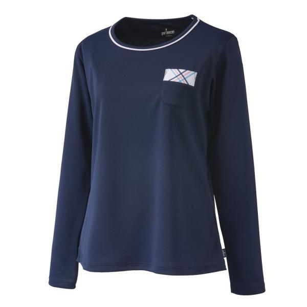 プリンス Prince テニスウェア レディース ロングスリーブシャツ WL9055 2019SS[ポスト投函便対応]|kpi|02