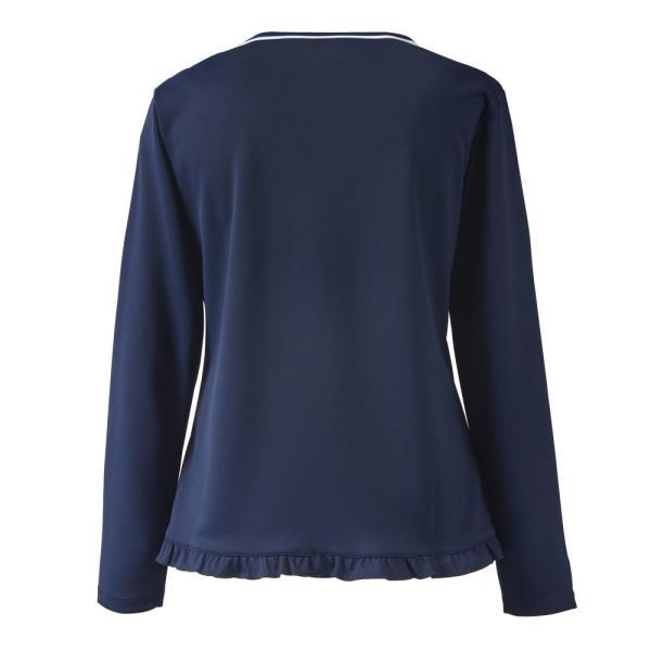 プリンス Prince テニスウェア レディース ロングスリーブシャツ WL9055 2019SS[ポスト投函便対応]|kpi|03