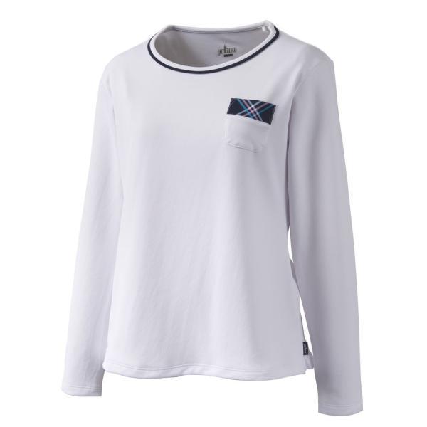 プリンス Prince テニスウェア レディース ロングスリーブシャツ WL9055 2019SS[ポスト投函便対応]|kpi|04