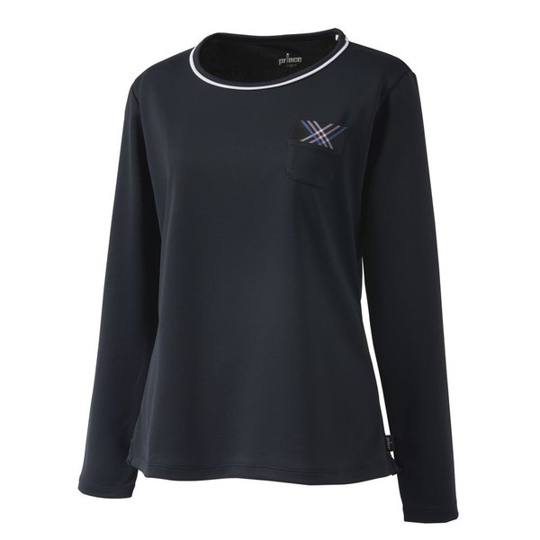 プリンス Prince テニスウェア レディース ロングスリーブシャツ WL9055 2019SS[ポスト投函便対応]|kpi|05