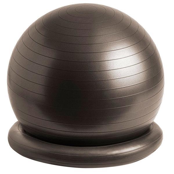 サクライ貿易 フィットネスその他  腰にイイス65cm バランスボール 65cm ブラック  54146