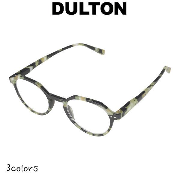 【リーディンググラス 】 ダルトン DULTON 老眼鏡 シニアグラス ファッション 眼鏡 縁あり フチあり 度入り 度付き フレーム ノーマル型 お