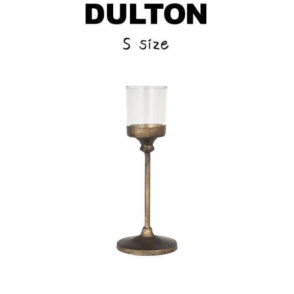 【アイアン キャンドル スタンド S】 ダルトン DULTON キャンドルスタンド キャンドル立て キャンドルホルダー 蝋燭立て ロウソク立て スチール ガラス