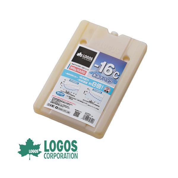 保冷剤 ロゴス LOGOS 氷点下パックGT-16℃・ハード900g 保冷剤 保冷材 保冷パック 蓄冷剤 蓄冷材 アイスパック 強力 長時間 氷点下 ジェル