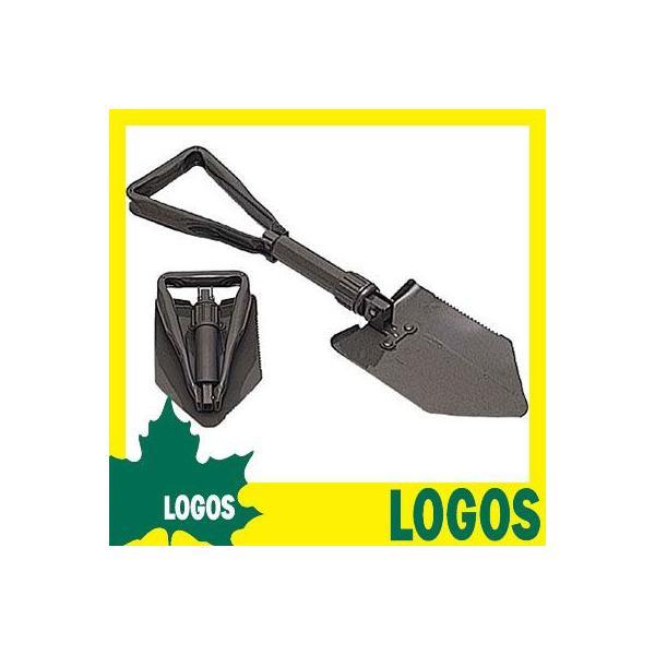 ショベル ロゴス LOGOS フォールディングショベル スコップ 折りたたみスコップ ノコギリ のこぎり 鋸 穴掘り 携帯 折り畳み ガーデニング キャンプ