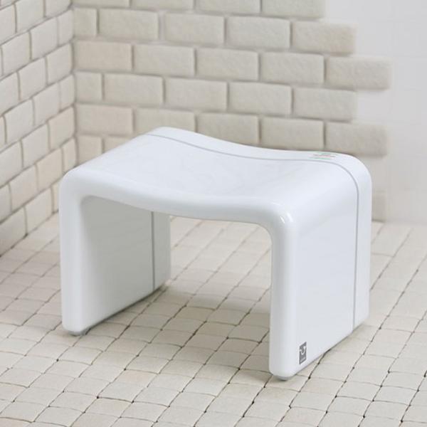 正規販売店 バス用品風呂椅子角 MX バススツール バスチェア バスチェアー 風呂椅子 風呂イス 風呂いす お風呂チェアー 日本製 国産 白 ホワイト