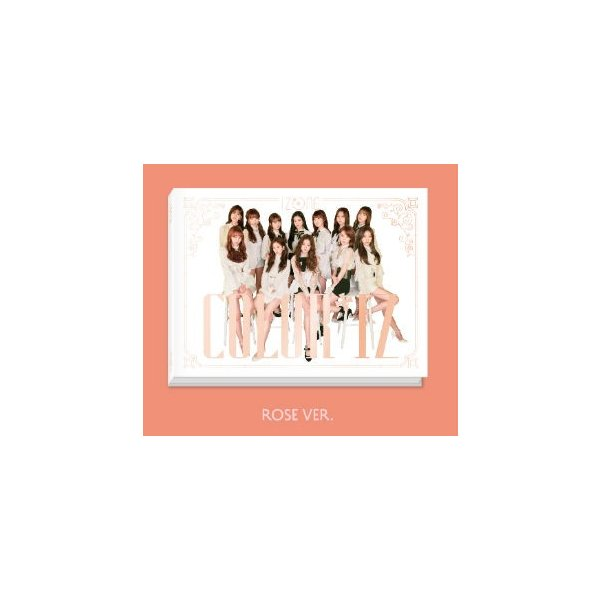 IZ*ONE、1st Mini Album [COLOR*IZ](ROSE Ver.)|kpopbokujostore