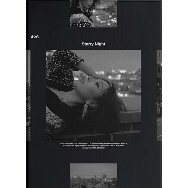 BoA 2nd Mini Album [Starry Night] kpopbokujostore