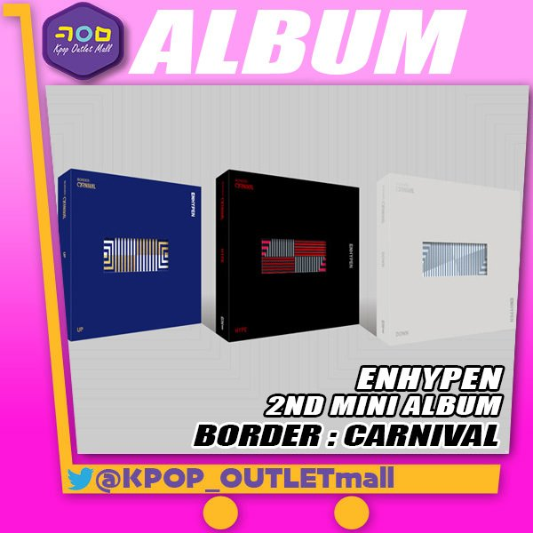 ENHYPENミニ2集アルバム ENHYPENBORDER:CARNIVAL   /ランダム エンハイフンエンハイプン2ndMI