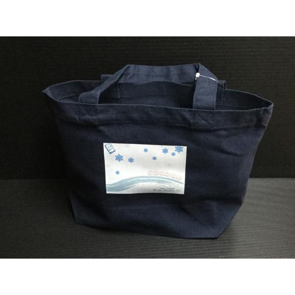 エコバック[冬の遠足に出発!](紺色)|kpro