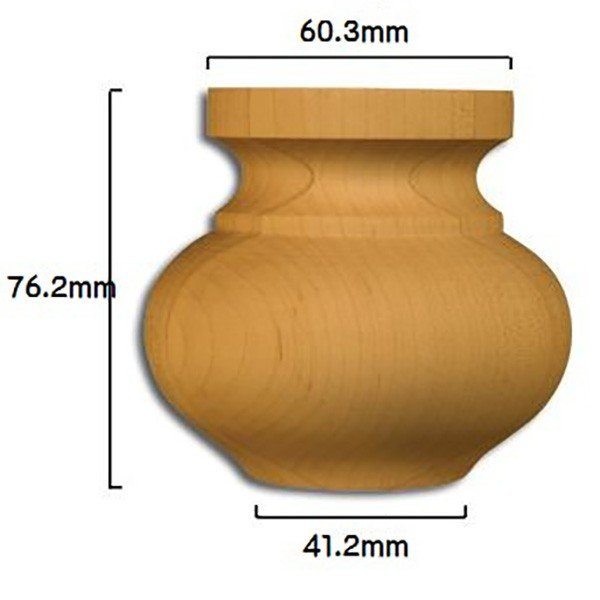 Medium Squat Round Bun Foot|kqlfttools|02