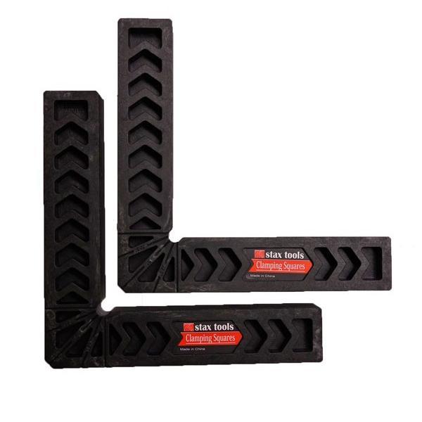 【stax tools】 CLAMPING SQUARES (クランピングスクエアズ) 2個set 200mmサイズ kqlfttools
