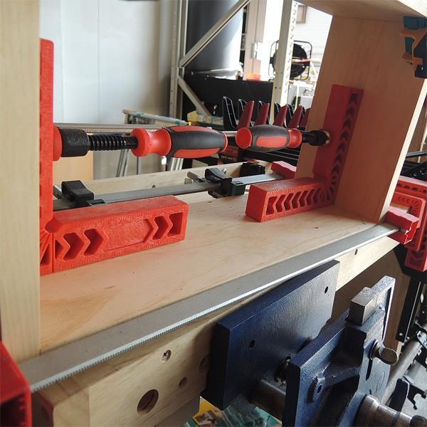 【stax tools】 CLAMPING SQUARES (クランピングスクエアズ) 2個set 200mmサイズ kqlfttools 03