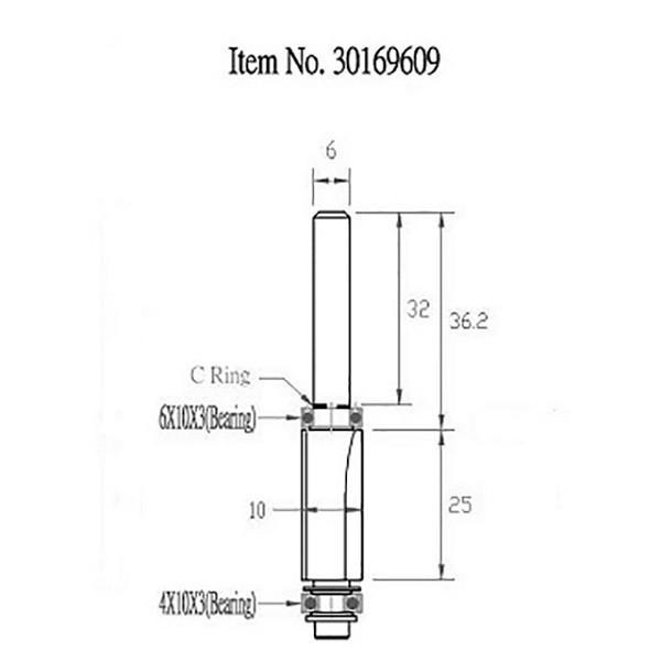 STAX TOOLS DoubleBearingPattern Bit (ダブル ベアリング パターン) 30169609|kqlfttools|03
