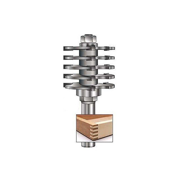 MLCS Box Joint Router Bit(ボックスジョイントビット)#7860|kqlfttools