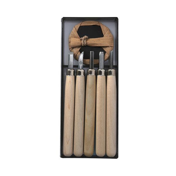 マルイチ 彫刻刀セット R5 【4903189251590】