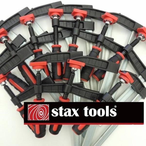 STAX TOOLS F型クランプ(赤) 80mm×200mm 10本 kqlfttools 02