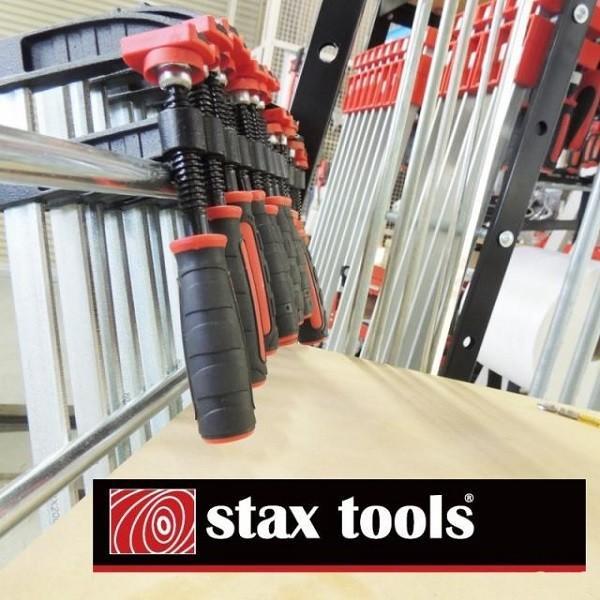 STAX TOOLS F型クランプ(赤) 80mm×200mm 10本 kqlfttools 03