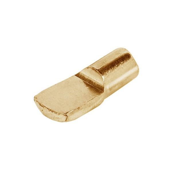 HAFELE スプーン型棚ダボ 7mm 10個セット ゴールド #282.01.505|kqlfttools