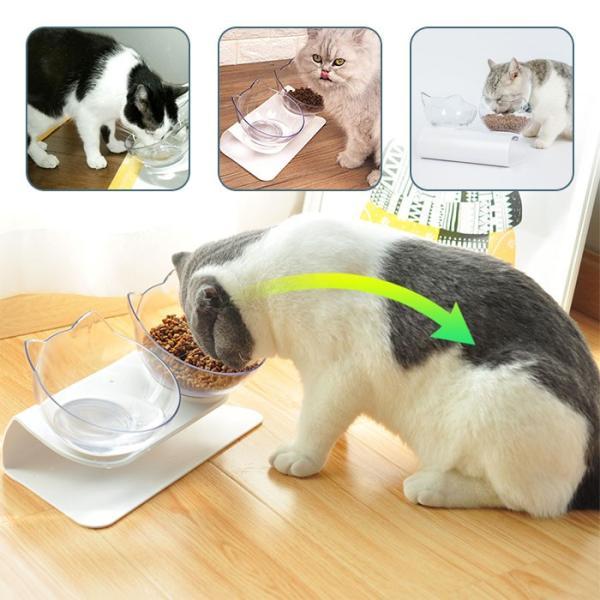 猫 フードボウル 猫 えさ 皿 小型犬用 食器 ダイニング フードボール ペット食器 2個セット krisonstore 12