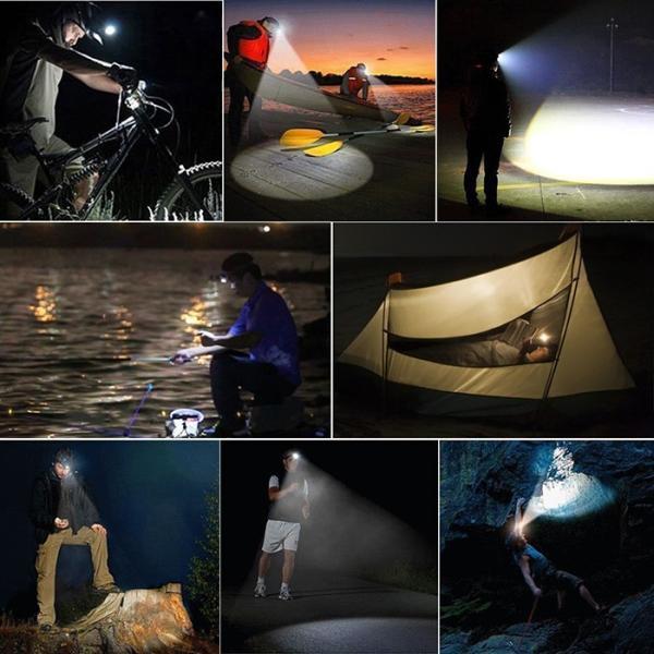 8000ルーメン超強力ヘッドライト LED ヘッドライト 4モード 超強力 防水 軽量 アウトドアー 登山 夜釣り 工事作業 自転車 ハイキング キャンプ|krisonstore|11