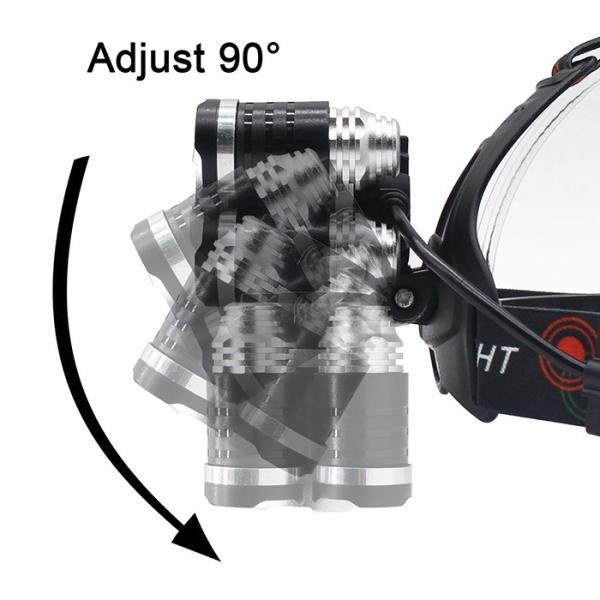 8000ルーメン超強力ヘッドライト LED ヘッドライト 4モード 超強力 防水 軽量 アウトドアー 登山 夜釣り 工事作業 自転車 ハイキング キャンプ|krisonstore|03