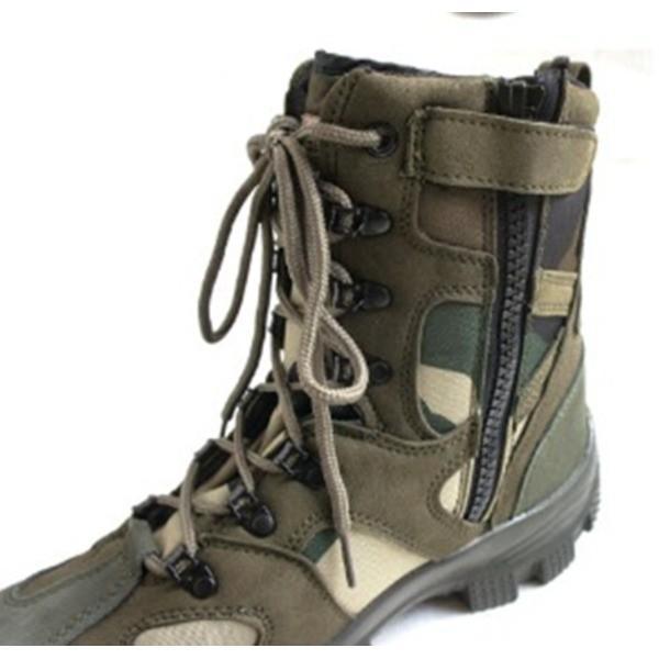 """アメリカ軍 サイドジッパブーツ/靴 〔 10W/28cm 〕 特殊部隊""""CONQUEROR""""モデル FB049YN 3カラーデザート"""