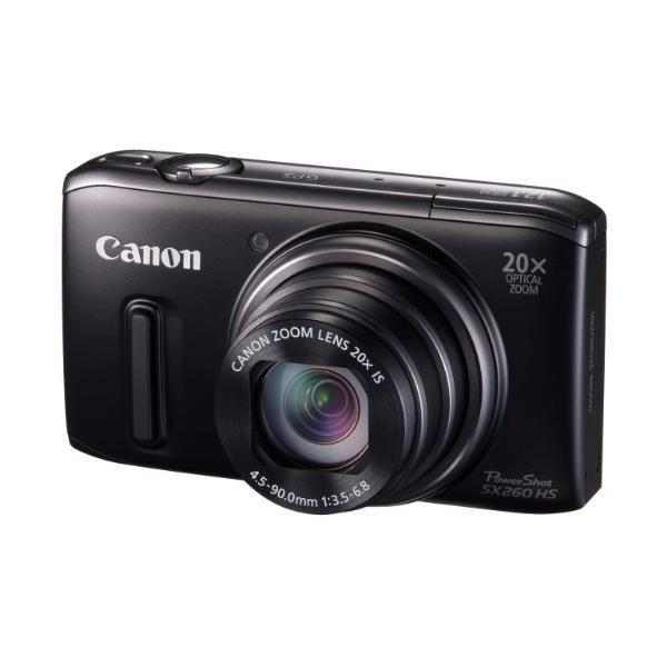 Canon デジタルカメラ PowerShot SX260HS 光学20倍ズーム GPS機能 PSSX260HS 中古 良品