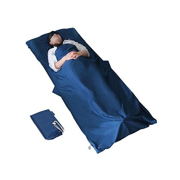 MYCARBONトラベルシーツ インナーシーツ シュラフ 寝袋 インナーシュラフ 100%綿|ks-hobby