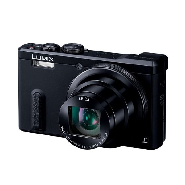 Panasonic デジタルカメラ ルミックス TZ60 光学30倍 ブラック DMC-TZ60-K 中古 良品