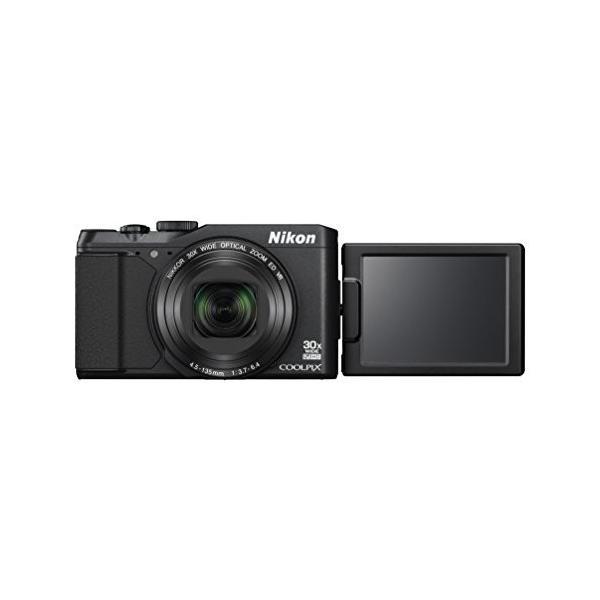 Nikon デジタルカメラ COOLPIX S9900 光学30倍 1605万画素 ブラック S9900BK 中古 良品