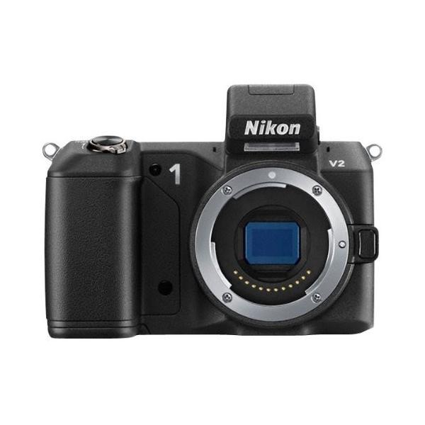 Nikon ミラーレス一眼 Nikon 1 V2 ボディー ブラック N1V2BK 中古 良品