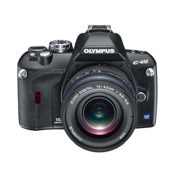 OLYMPUS デジタル一眼レフカメラ E-410 レンズキット ED14-42mm F3.5-5.6 付 中古 良品