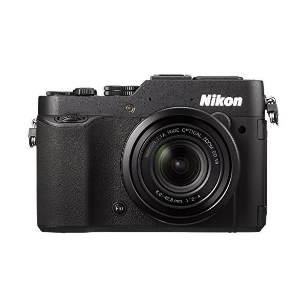 Nikon デジタルカメラ COOLPIX P7800 大口径レンズ バリアングル液晶 ブラック P7800BK 中古 良品