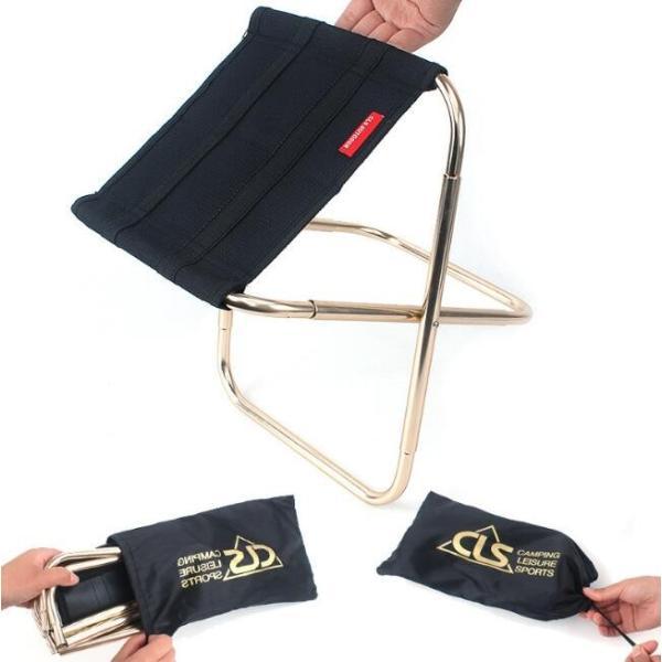 椅子 折り畳み 持ち運び 小さい 超軽量スツール いす 折り畳み式 小型アウトドアチェア 折畳式携帯椅子 コンパクト 野外登山 キャンプ用|ks-island|02