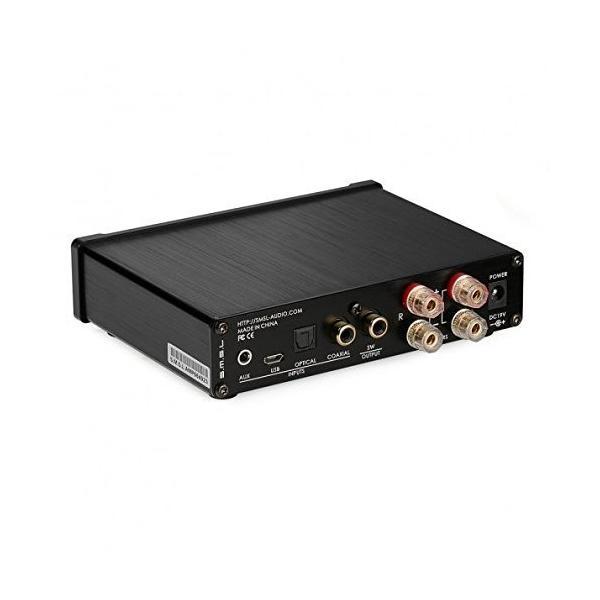 S.M.S.L Q5 Pro デジタルアンプ HI-FI 高音質 ステレオ スピーカー パワーアンプ TAS5508C+TAS5342Aデジタルアンプ