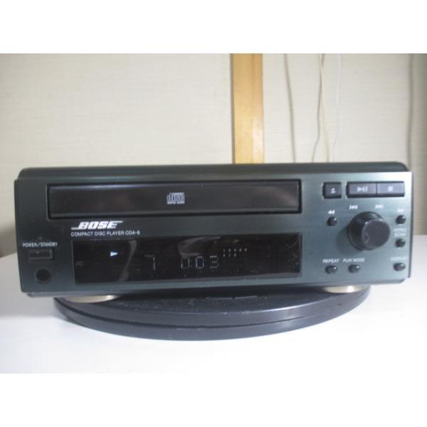 BOSE CDA-8 〓 いかにもボーズなCDプレーヤー, ベルト新品,ギリ美品,保証 〓 AMS-1 [066]