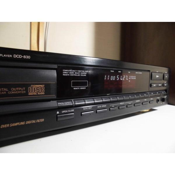 DENON DCD-830 〓 デノンのもう一つの顔 フルサイズCDプレーヤー, 良品,保証 〓 [008]