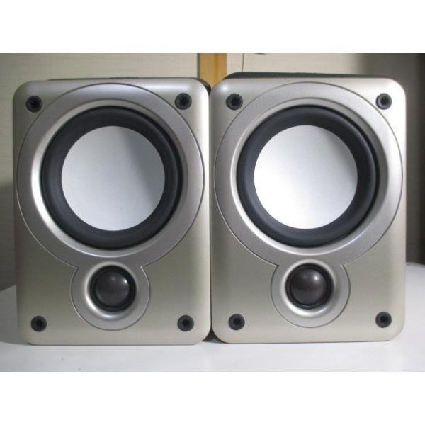DENON SC-M53 〓 ヨーロピアン・テイストなデノンのミニ・スピーカー, 美品,6M保証 〓 D-M33 [001]