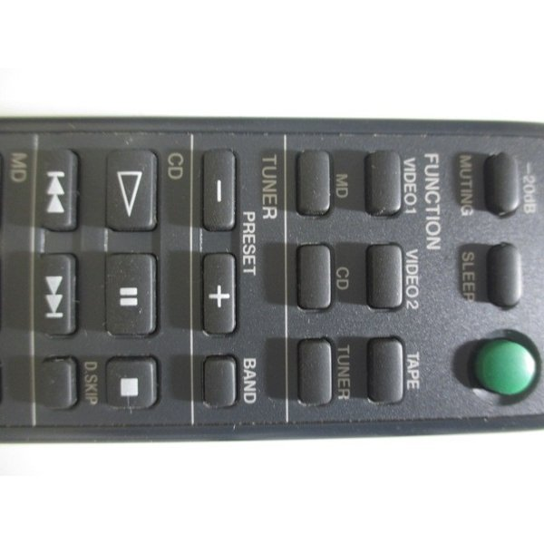 SONY RM-SE77 〓 ソニー「DHC-MD77」用リモコン, 良品,3M保証 〓 [001]