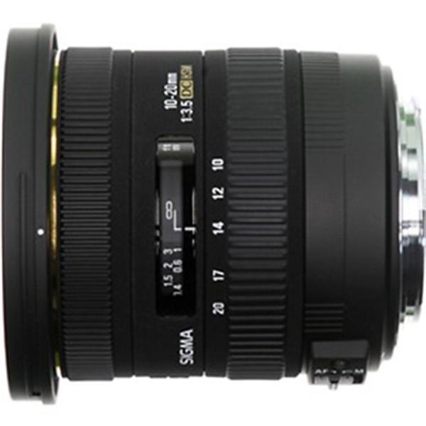 SIGMA 交換用レンズ ニコンFマウント 10-20mm F3.5 EX DC HSM(ニコン)