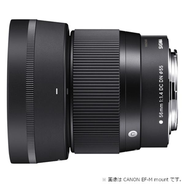 SIGMA 交換用レンズ ソニーEマウント 56mm F1.4 DC DN Cライン (ソニーE)