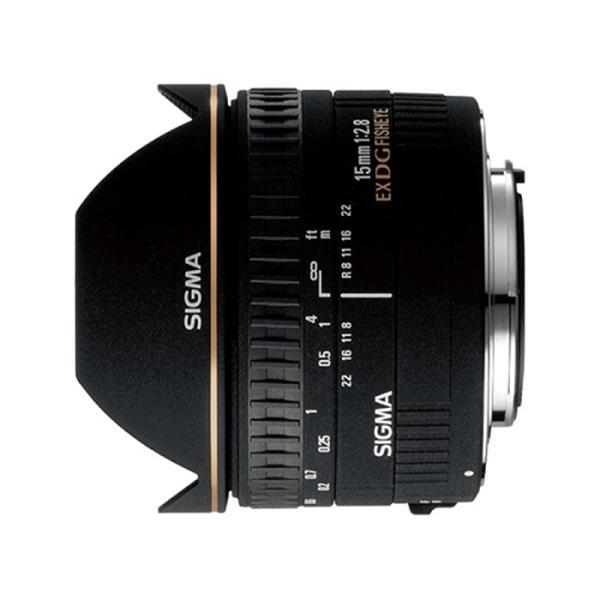SIGMA 交換用レンズ キヤノンEFマウント 15mm F2.8 EX DG DIAGONAL FISHEYE(キヤノン)