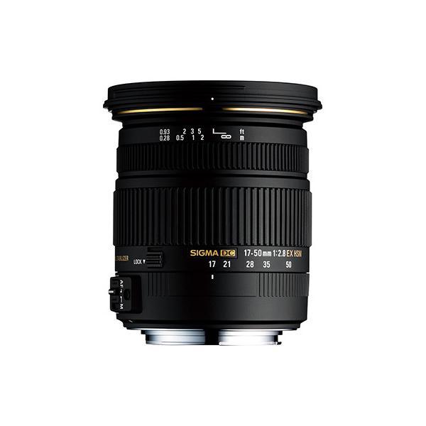 SIGMA 交換用レンズ キヤノンEFマウント 17-50mm F2.8 EX DC OS HSM(キャノン)