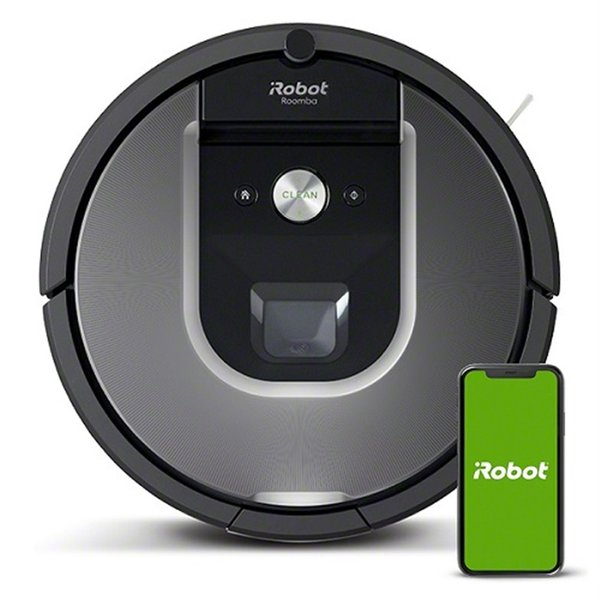 iRobot ロボット掃除機 ルンバ960 (国内正規品) R960060 メッドシルバー