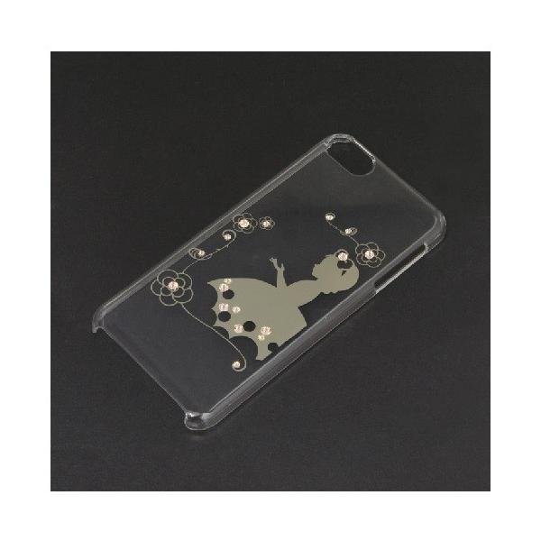 (アウトレット) 藤本電業 iPodtouch6thケース GDスノーホワイト JiPT6-LG02 ゴールド