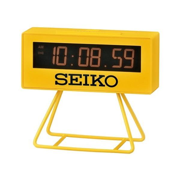 セイコークロック デジタル置き時計 SQ815Y